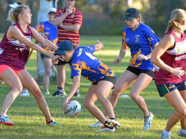 Central Queensland's Carly Hill.