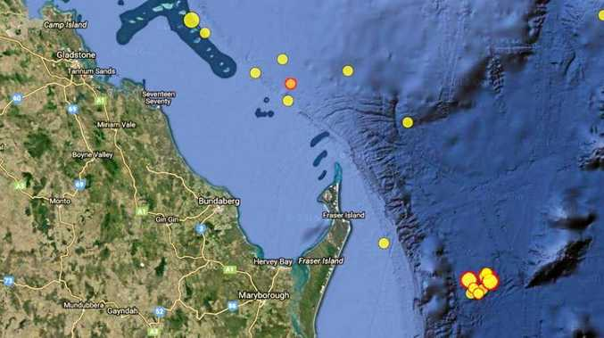 EARTHQUAKE: Early morning earthquake hits off the coast of Bundaberg.Photo Contributed