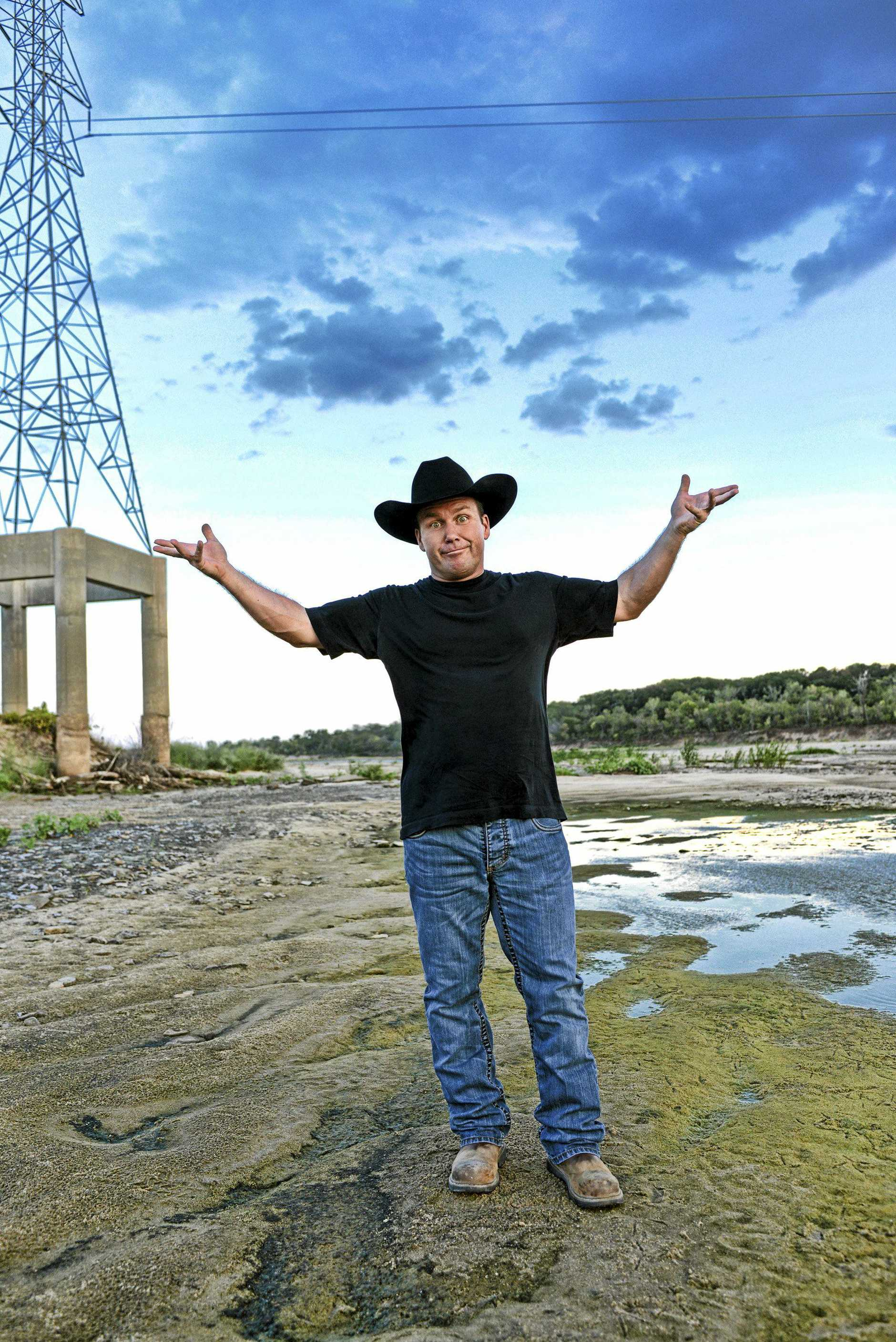 IT WILL BE HUGE: American country music comedian Rodney Carrington will perform on the Saturday night of the Gympie Muster.
