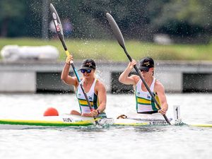 Anything could happen in Games debut: paddle pair