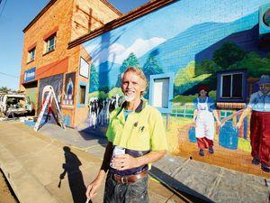 Future of Maryborough mural uncertain over funding