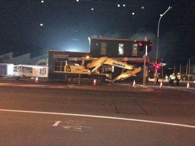 Bunnings demolition | Chronicle