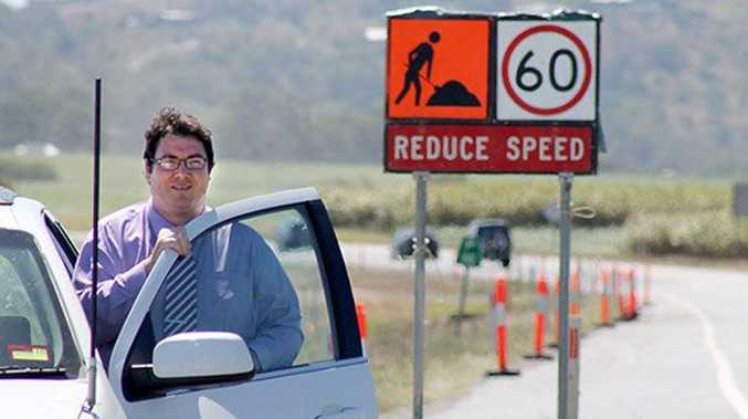 Dawson MP George Christensen announced construction has started on two $7 million overtaking lanes on the Bruce Highway between Proserpine and Bowen.