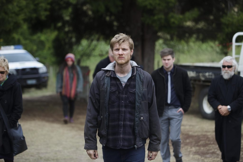 Brad Kannegiesser in a scene from the season final of The Kettering Incident.