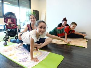 The pilates class helping kids overcome difficulties