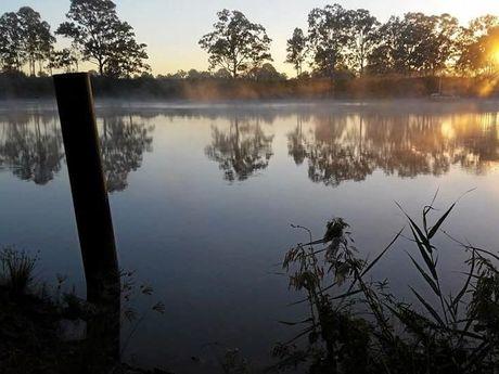Mary River sunrise