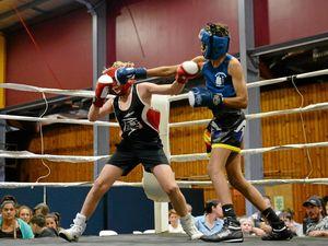Boxing Barram scores upset win