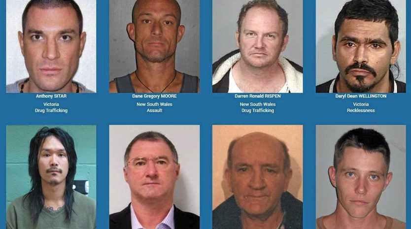 Crime Stoppers Australia has released a list of the country's 19 most wanted fugitives.