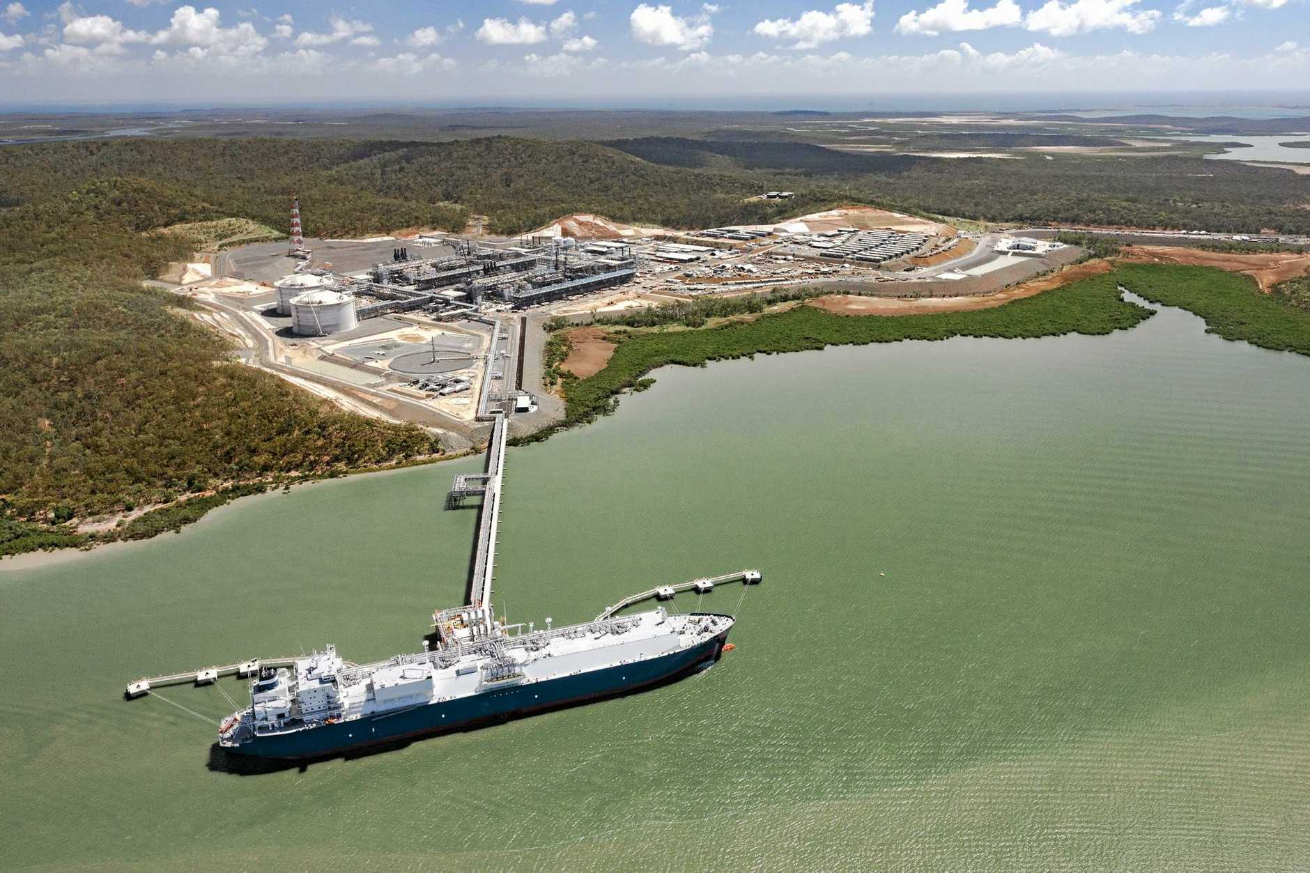 BURNING MONEY: Santos has written-off $1.05 billion from the value of GLNG.