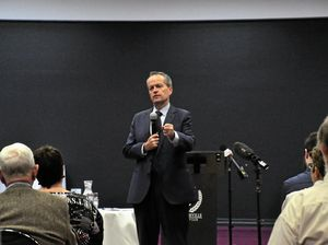 Shorten: 'Great place to live, better if you have a job'