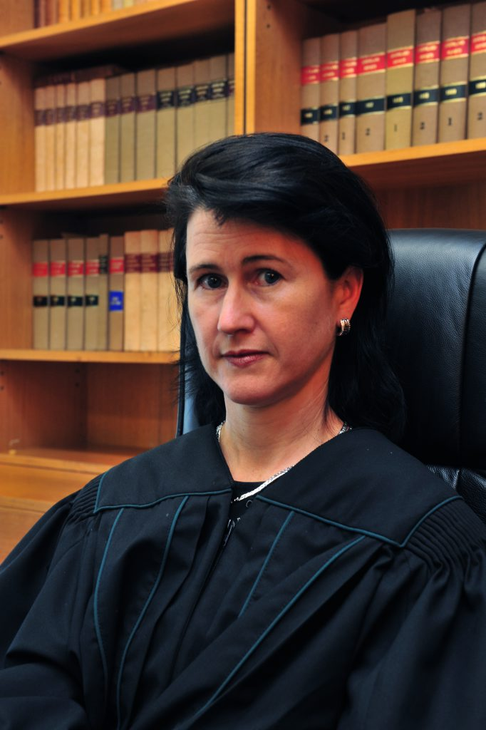 GETTING TOUGH: Magistrate Deborah Vasta agrees that domestic violence is a big issue in Bundaberg and is supporting the NewsMail's campaign to stamp it out. Photo: Max Fleet / NewsMail
