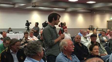 This man asked a question of Bill Shorten. \