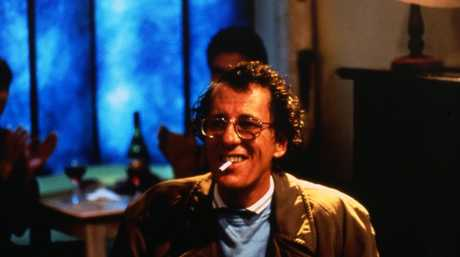 Geoffrey Rush in a scene from the movie Shine.