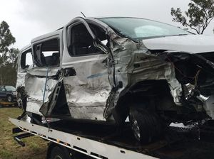 Truck and mini van collide on Bruce Hwy; seven injured
