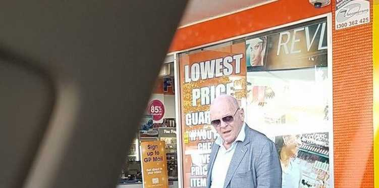 Welsh actor Anthony Hopkins was spotted in Prince St, Grafton on Tuesday, 16th of August, 2016.