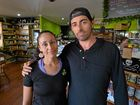 New Earth Cafe owners Ben and Sarah Parsons are warning other businesses after they fell victim to a scam.