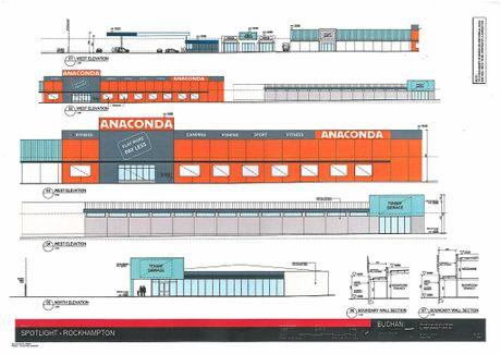 The proposed development will include an Anaconda store.