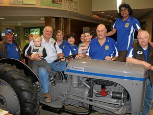 Fergie tractor raises $13,000 for drought-hit farmers