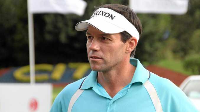 FAMILIAR FACE: Former Toowoomba golfer Andrew Tschudin.