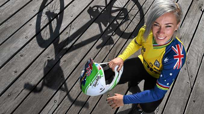 Five-time BMX world champion Caroline Buchanan is chasing gold in the women's event in Rio.