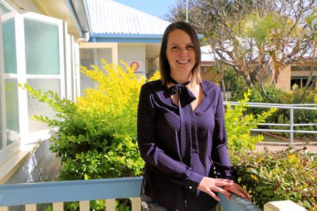 FAST-TRACKED: Amy Gray has just completed the two-year Allied Health Professional Rural Development Pathway to advance to the level of senior speech pathologist.