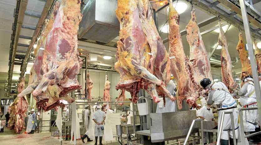 CONCERNS: Shifts have been slashed at JBS meatworks at Dinmore.