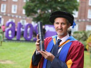 Aussie cricketing legend Gillespie receives honorary degree