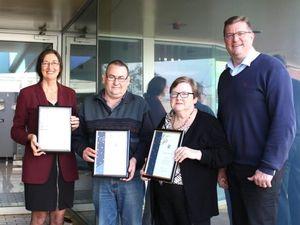 Three Toowoomba JP's awarded for contribution