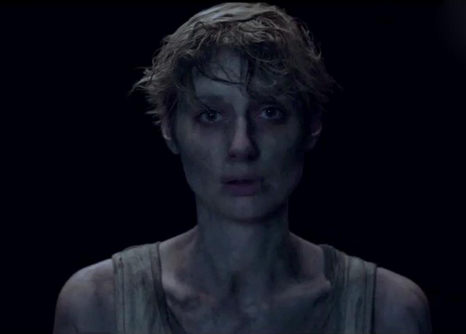 Elizabeth Debicki in a scene from the season final of The Kettering Incident.