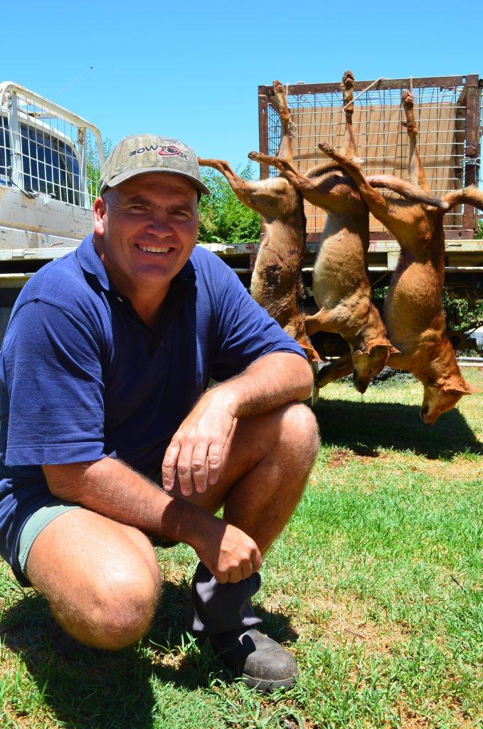 Wild dog trapper Gary Jackson