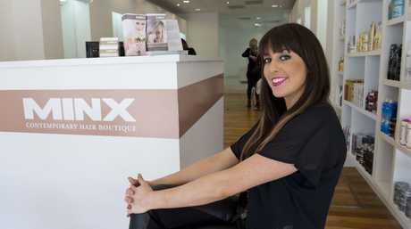 Salon director at Minx Contemporary Hair Boutique, Beau Minnett