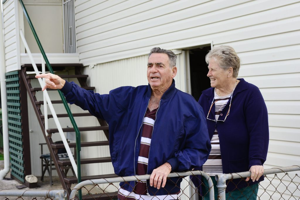 Max and Marlene Barnes are just some of the residents affected by the recent crime spate on their streets. Max says one young man stopped hi pushbike in front of their house and called the 73-year-old out to fight.