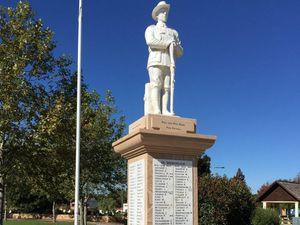 Digger disgusted at war memorial vandalism