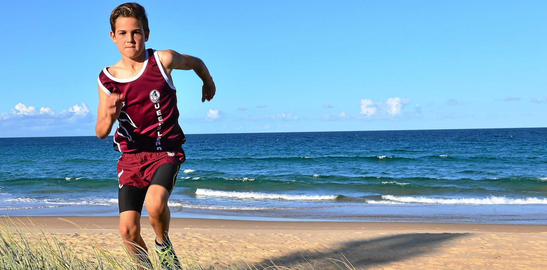 ON HIS HEELS: WIll Brown is off to Canberra for the Australian Cross Country Championships.