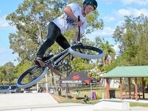 BMX skills jump to whole new level
