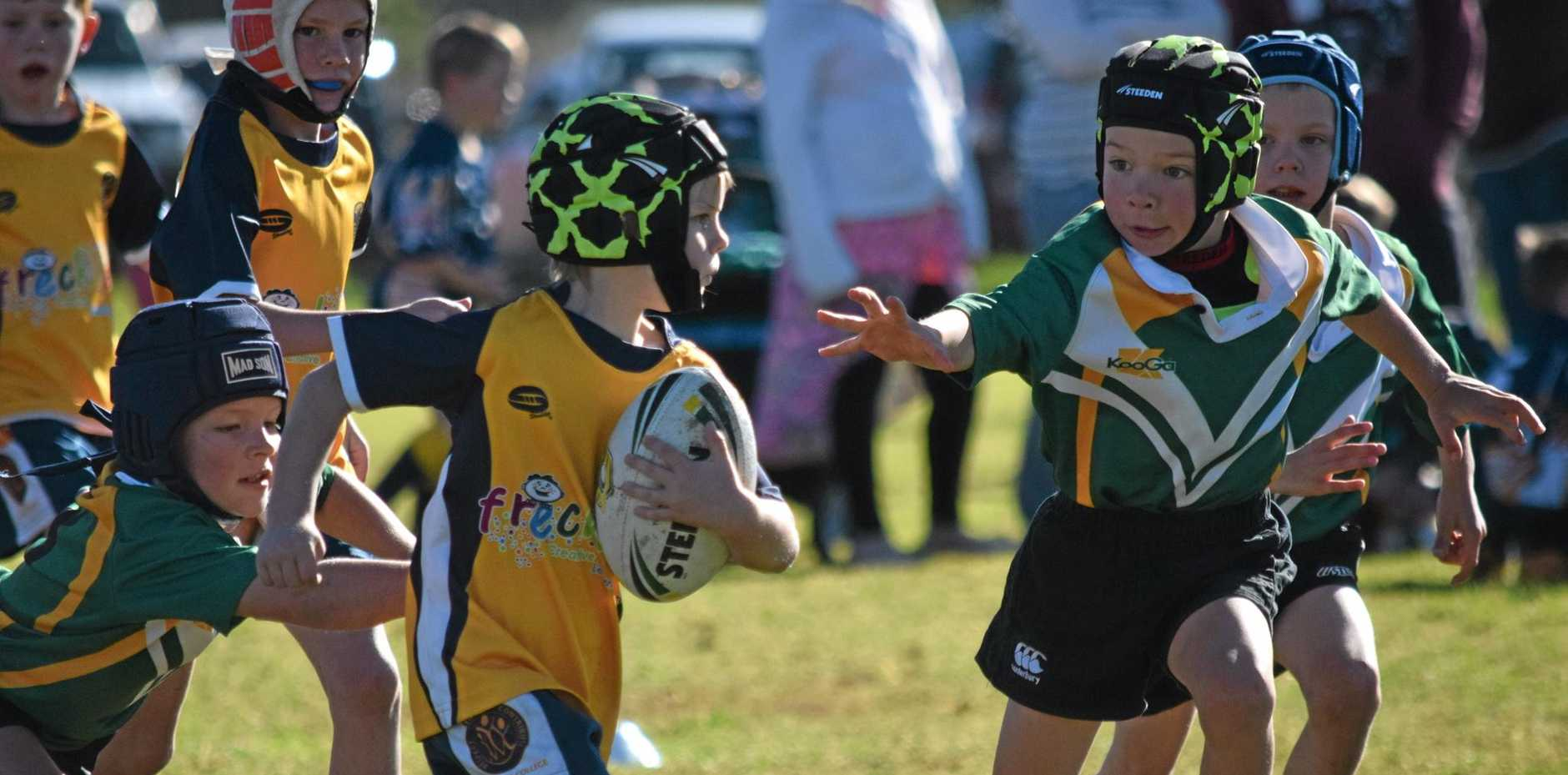 Roma State College under-8s player.