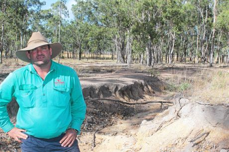 Calliope farmer Will Wilson wants the state government to oppose the land management act.