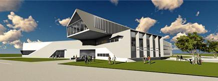 ABOVE: An artist's impression of the new Ballina high school.