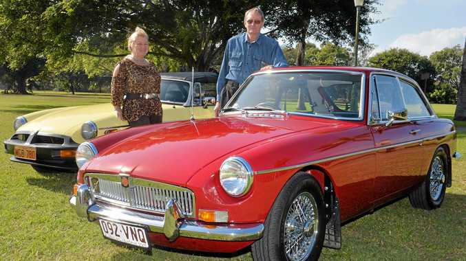 SPORTY: Cathie Meredith and John Evetts are looking forward to this weekend's event.