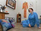 POP-UP ART: Trudie Leigo launches a new art exhibition for Creative Regions in Bundaberg.