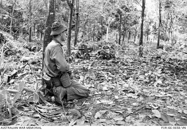 Eighteen soldiers were killed and 25 were wounded during the Battle of Long Tan on August 18, 1966.