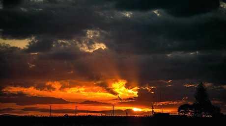 SUNSET: Kelvyn Pearson captured this sunset.
