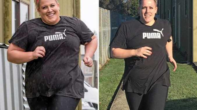 Tara has lost an impressive 35kg.