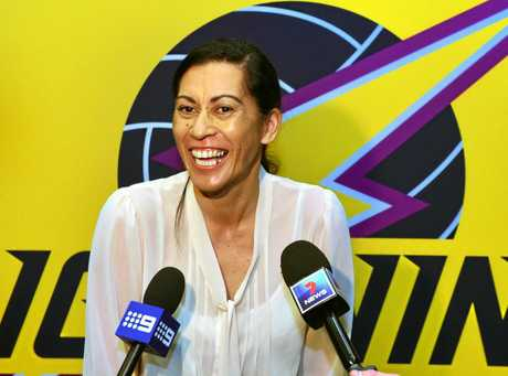 The new Sunshine Coast netball team has been announced. The Lightning coach Noeline Taurua.   Photo: John McCutcheon / Sunshine Coast Daily
