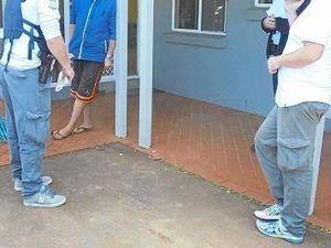 Taser, homemade weapons, drugs found in North Coast raids
