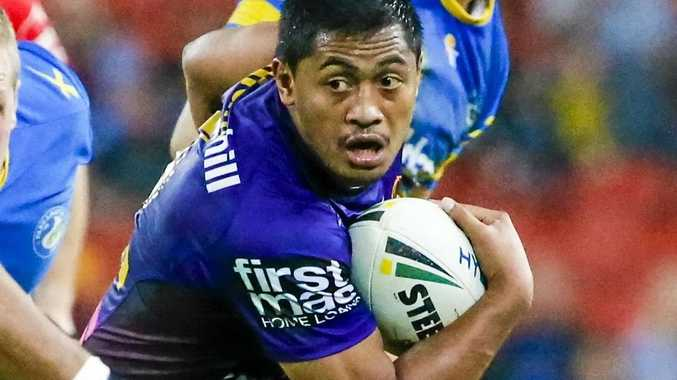BACK IN FORM: Anthony Milford of the Broncos in action.