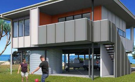 Gladstone builders to build 57 beachfront homes.