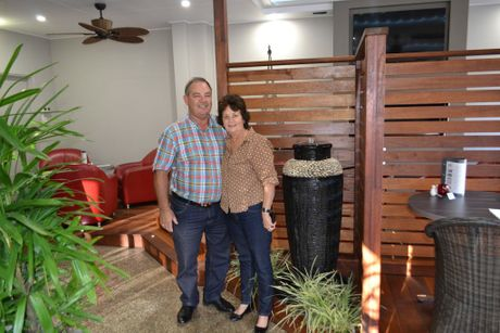 WORLD CLASS: Franchisees Graham and Colleen Cosgrove of Toowoomba's own Quality Hotel Platinum International believe their hotel is the world's best. Photo Naomi Matthews