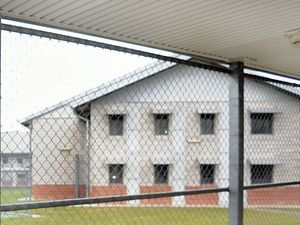 Prison inmate taken to hospital with head injuries