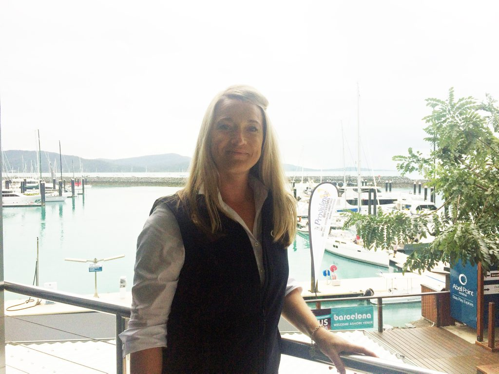 Abell Point Marina marketing manager Joscelyn O'Keefe said they would know by now if there was a tsunami warning.